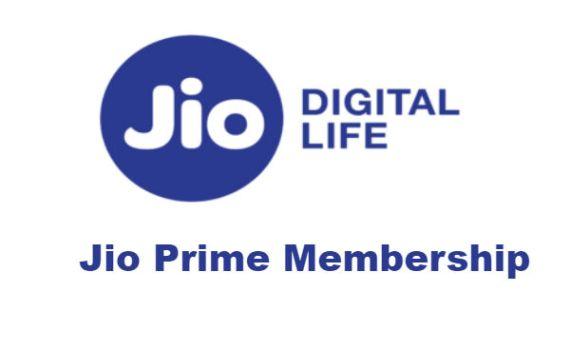 Jio Prime Membership Renewal recharge