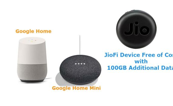 Jio Offers Google JioFi Device With 100GB Data Free