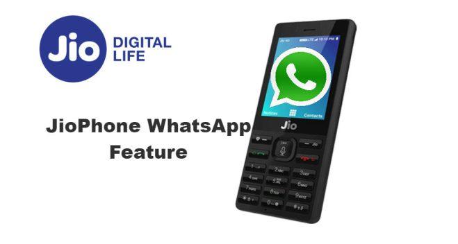 jio phone kaios apps download whatsapp