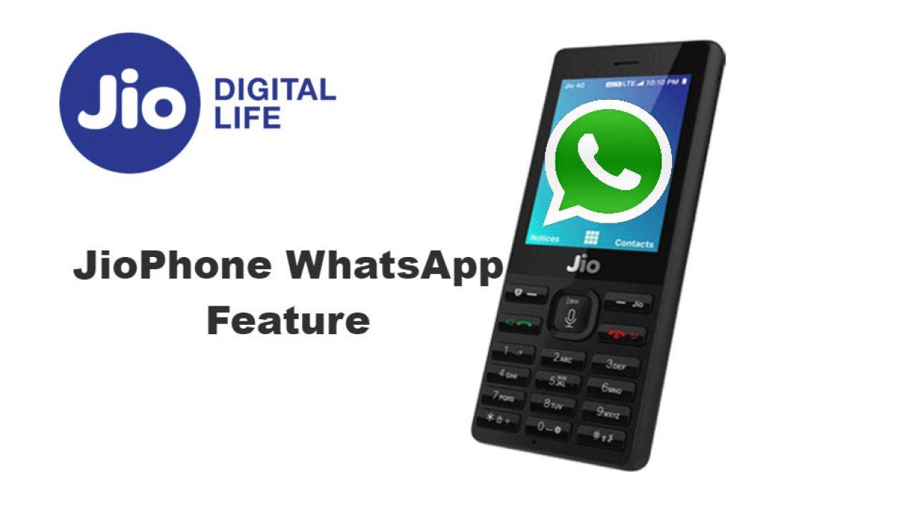 whatsapp app install now in jio phone