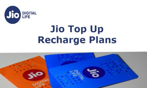 Jio Top Up Recharge Plans