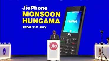 Buy Jio phone Monsoon Hungama Offer