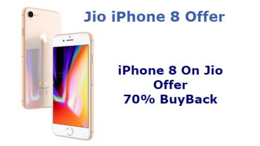 jio iphone 8 offer