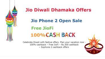 Jio Diwali Dhamaka Offers