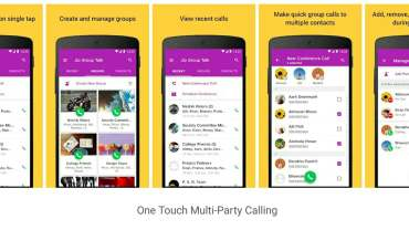 Jio Group Talk App
