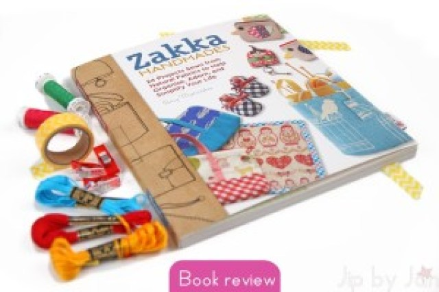 Book review Zakka handmades by Amy Morinaka Jip by Jan