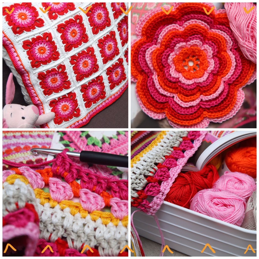 Colorful Crochet Jip By Jan