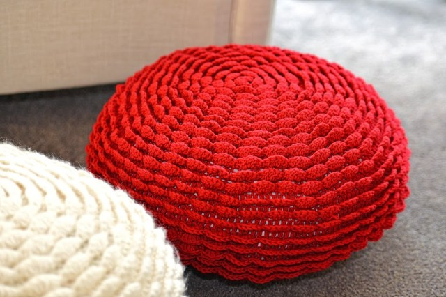 Crochet flower pouf nr 4 | Gehaakte bloemenpoef nr 4 Jip by Jan