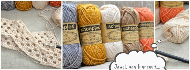 Scheepjeswol Stonewashed XL haakgaren Jip by Jan
