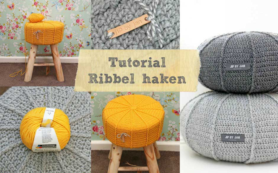 Tutorial Krukhoesje Of Poef Met Ribbel Haken Jip By Jan