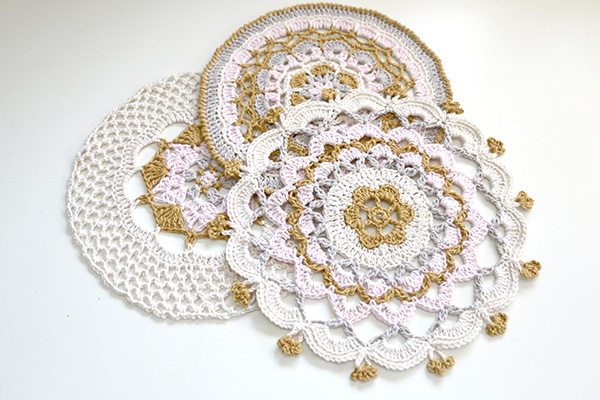Mandalas to crochet Jip by Jan