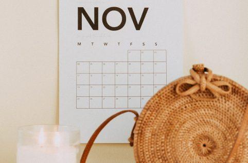 11月の自力整体スケジュール