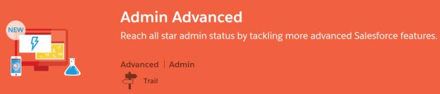 Admin Advance Trail