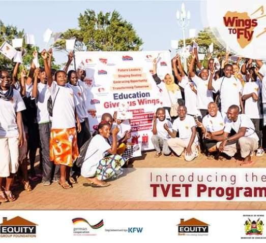 Equity tvet wings to fly program