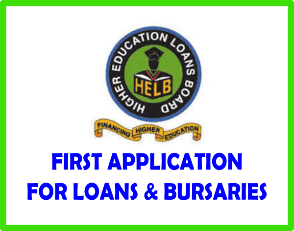 HELB loan first application logo