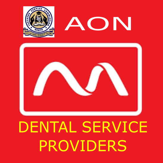 List of AON hospitals and clinics offering dental services