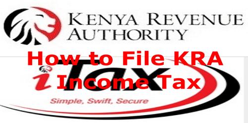 KRA employment tax filing