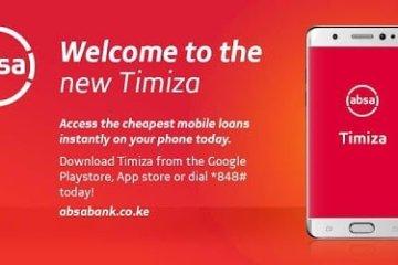 Timiza loan app from Play Store main image