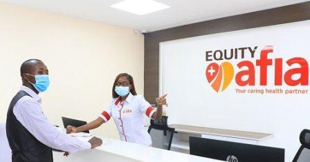 Equity Afia Clinic branches