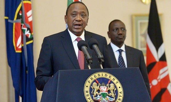 Kenya President and DP