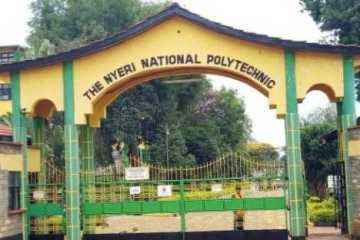 Nyeri National Polytechnic courses, requirements and fee structure