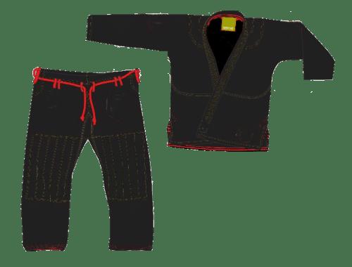 Black Brazilian Jiu Jitsu Gi