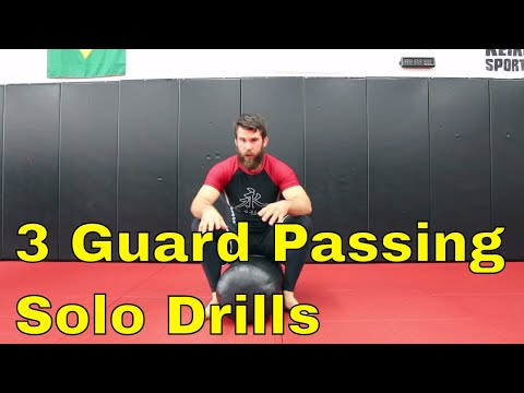 3 BJJ Solo Drills and How To Use Them During a Match or