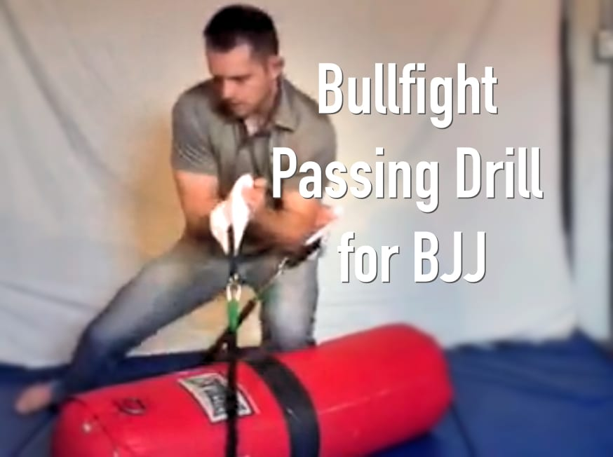 Bullfight Drill with Heavy Bag