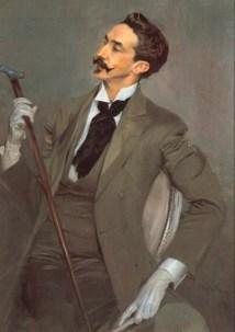 Giovanni Boldini: Robert de Montesquiou, Öl auf Leinwand, 1897.