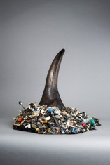 Mark Dion: The Academy of Things. New Curiosities for the Green Vault, Rhinoceros Horn, Courtesy Galerie Nagel/Draxler Berlin, Copyright Mark Dion, 2014. Foto: Robert Vanis
