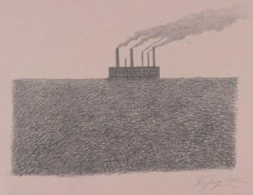 Ohne Titel. 2012. Papier, Bleistift, 500 x 700 mm © Alexander Brodsky