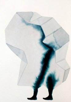 Andrea Heller Ohne Titel, 2014 Aquarell auf Papier 26 x 18 cm © Andrea Heller
