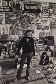 Klaus Maeck, Betreiber des Rip Off-Ladens, 1979 © Klaus Maeck