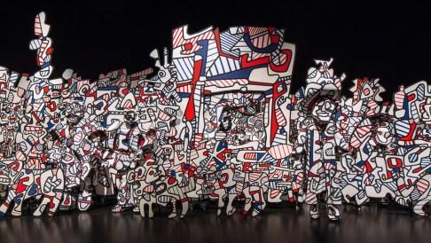 Jean Dubuffet Coucou Bazar, 1972-1973 Installationsansicht Collection Fondation Dubuffet, Paris © 2015, ProLitteris, Zürich Foto: Les Arts Décoratifs, Paris/Luc Boegly