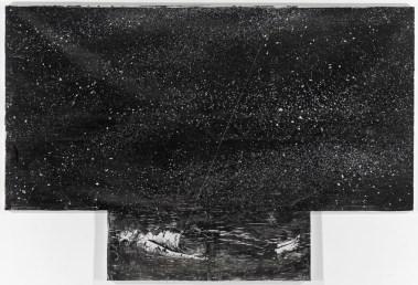 Anselm Kiefer, Der gestirnte Himmel über mir und das moralische Gesetz in mir, 1997 Privatsammlung; © Anselm Kiefer und Ulrich Ghezzi