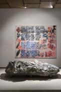 """Ausstellungsansicht, """"Das Kabinett des Malers. Terry Winters im Dialog mit der Natur"""", 2016, Foto: Universalmuseum Joanneum/N. Lackner"""