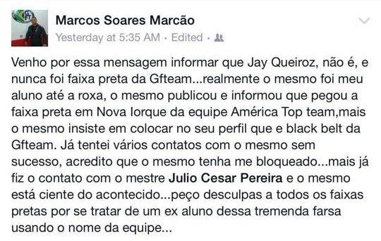 Marcos Soares Marcão