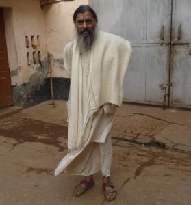 Babaji at Sri Haridas Niwas