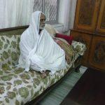 devotee meditating