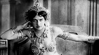 Mata Hari, a Dutch exotic dancer and courtesan who was convicted of being a spy for Germany during World War I.