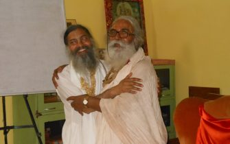 The Catur Mahant and Babaji SND 2013 at Jiva