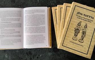 Jiva Tattva opened and closed books