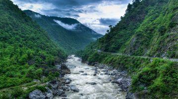 Kosi River Valley - Almora - Uttarakhand - India