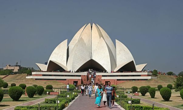 Lotus_Temple_ South Delhi_India
