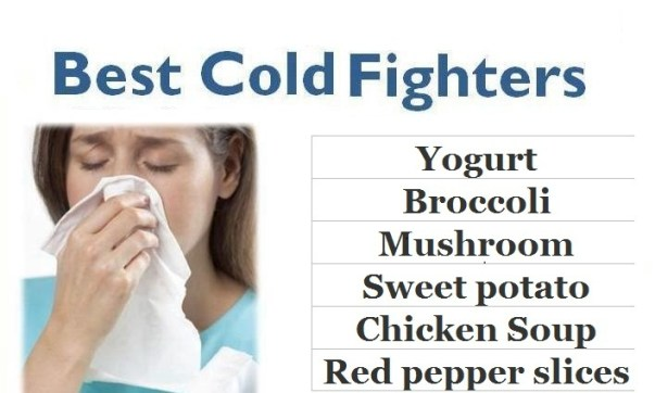 Try these cold fighting food