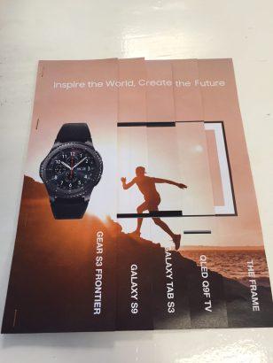 Creatieve advertentie Samsung
