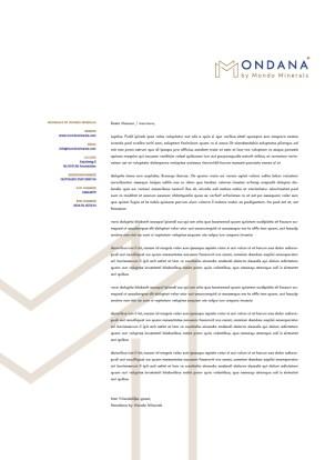Mondana Briefpaper