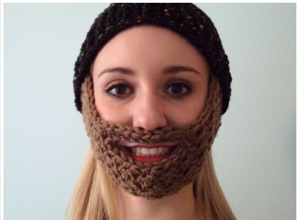 Crochet Beard Pattern Free Hat Pattern