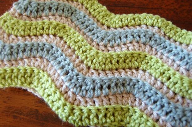 Crochet Ripple Chevron Pattern
