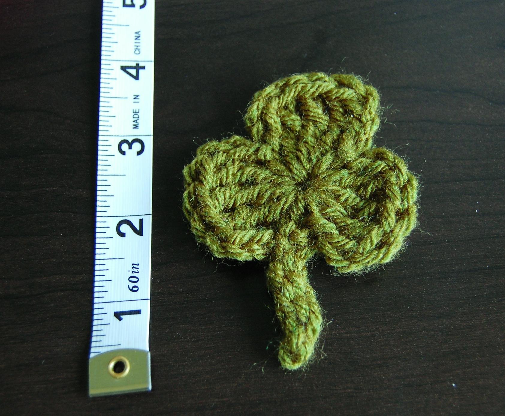 Crochet Shamrock Pattern - Free